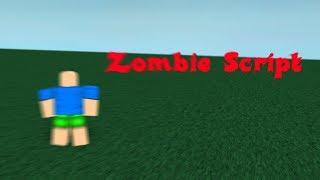 Roblox Void Script Builder (Place 1) Zombie Script