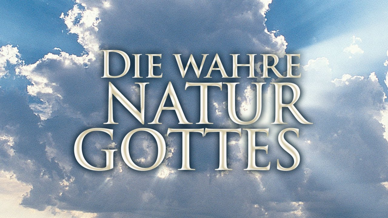 Die wahre Natur Gottes - Woche 4, Tag 3 - The Gospel Truth ...