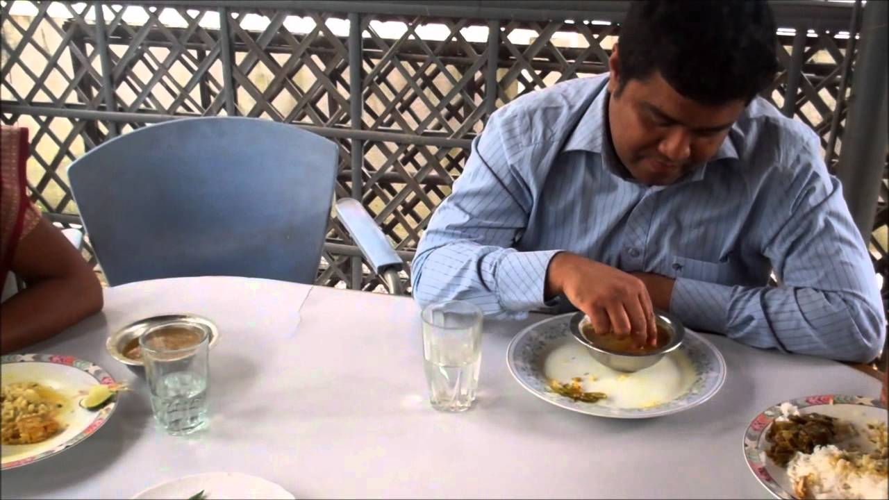 Dal bhat traditional food of bangladesh youtube for Cuisine you eat with your hands