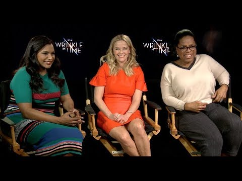 A WRINKLE IN TIME s  Oprah, Witherspoon, Kaling, Pine, MbathaRaw, Duvernay, Reid