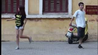 Flashmob mirror Demo Khoa Tây Ban Nha HANU