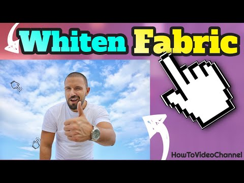 How To Whiten Fabric With Oxi Clean Bleach Clothes Like Billy Mays