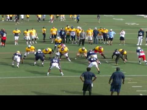 2017 College Gridiron Showcase Select Day Two: Inside Run