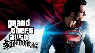 Скачать GTA SA PC Mod Do Super Homem