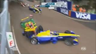 Formula e biggest crashes
