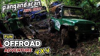 Fun Offroad 4x4 Pangandaran Jawa Barat Indonesia Part 1 2