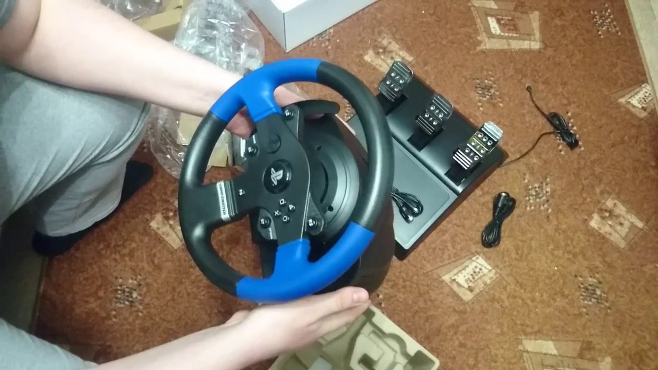 Thrustmaster T150 PRO FFB + Thrustmaster TH8A add-on Shifter - распаковка и  первое впечатление