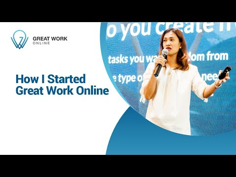 How I Started Great Work Online