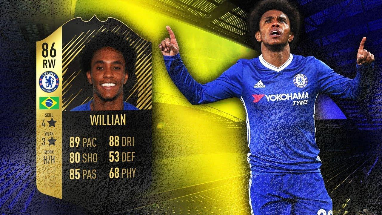 Willian Fifa 18