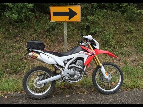 Small Town CRF250L MotoVlog Stella Missouri Bald Eagles Drift Ghost