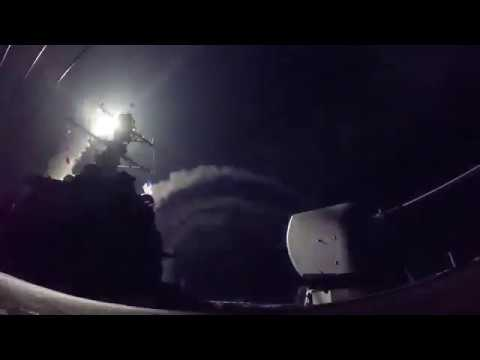 U.S. Fires Tomahawk Missiles into Syria