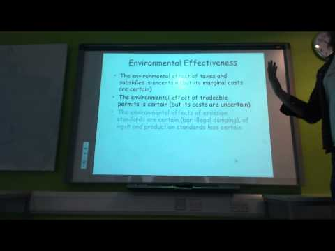 Climate economics (UG): Policy instruments for emission reduction