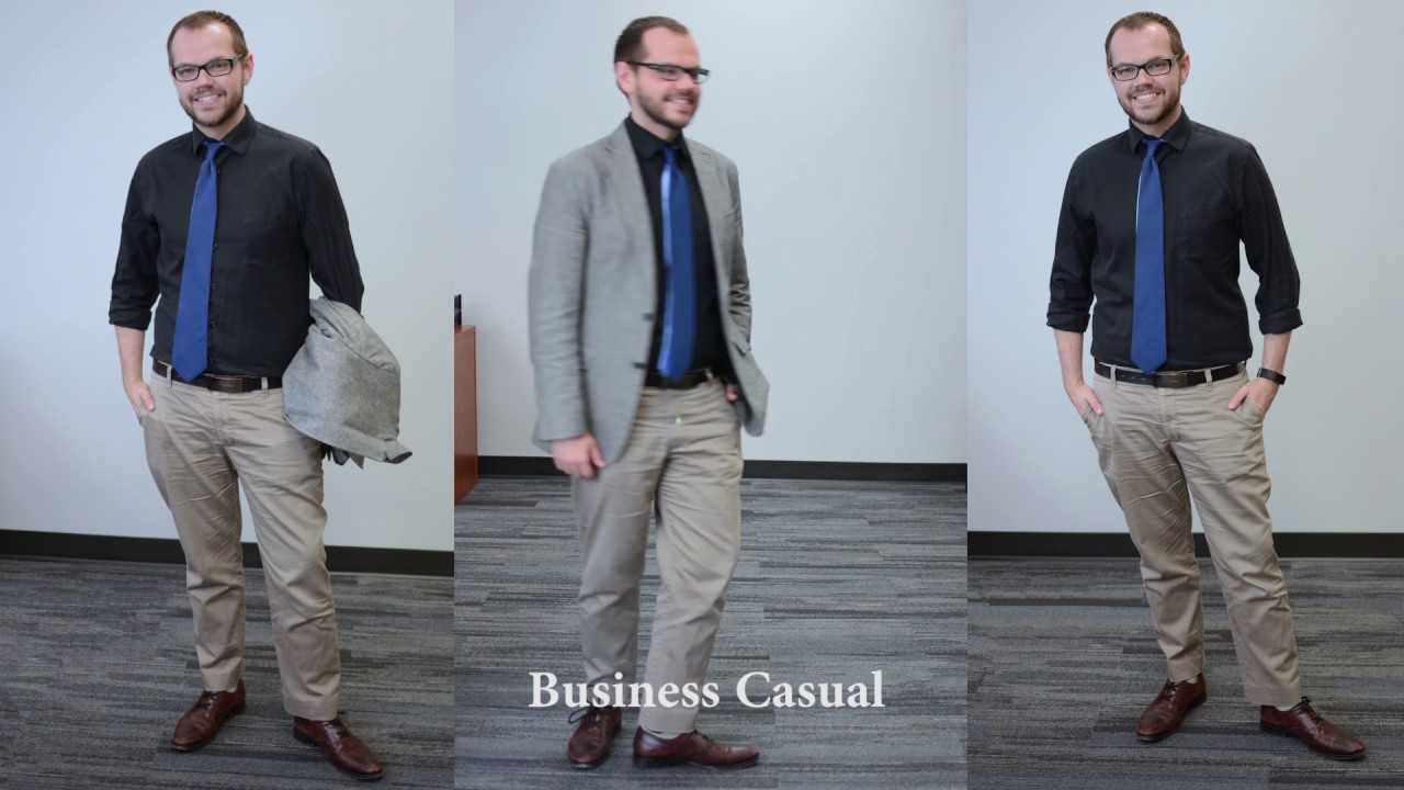 professional vs business casual attire youtube