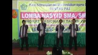 Nasyid Nasional II 2008 SMAN 1 Praya Lombok Tengah NTB