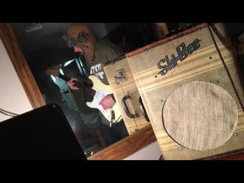 fretless open g blues marshall suitcase