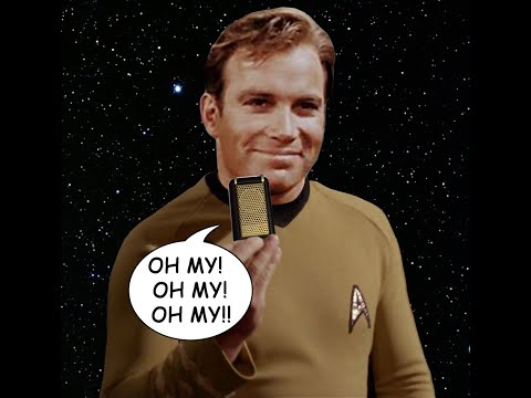 Star Trek: Capt. Kirk's Communicator's New Ringtone (Oh My)