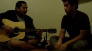 Everly brothers/The Platters - Dream / Earth Angel acoustic cover medley