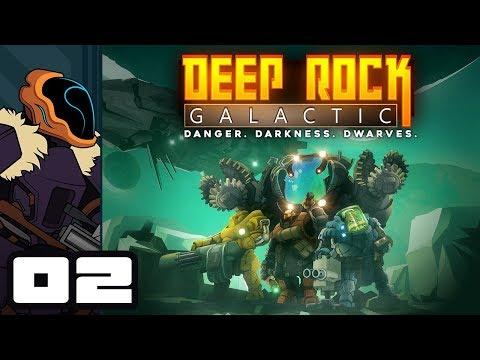 Let's Play Deep Rock Galactic Multiplayer - PC Gameplay Part 2 - Proper Teamwork!