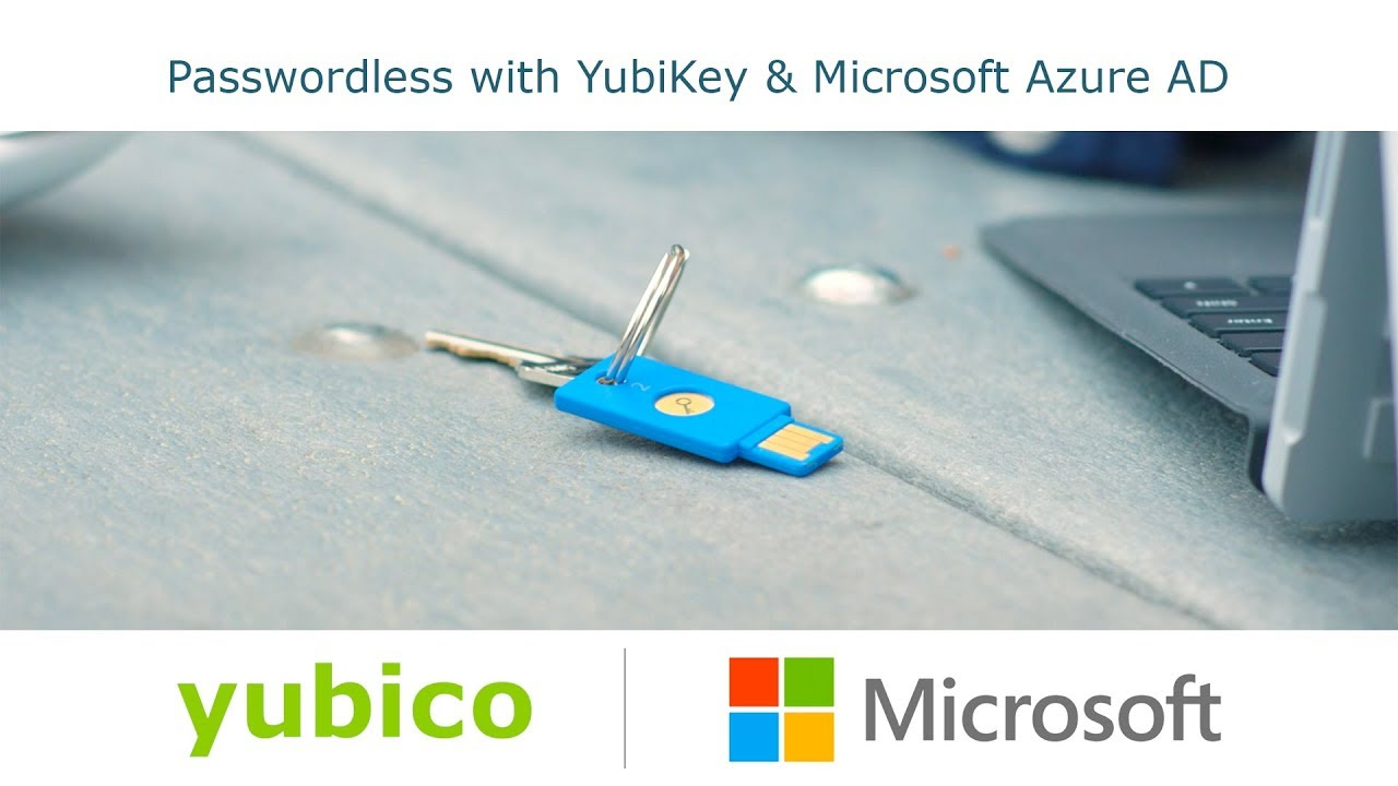 Yubico and Microsoft Introduce Passwordless Login | Yubico