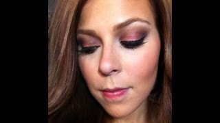 NYE Holiday Glam Purple smokey eye tutorial! Thumbnail