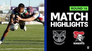 Warriors v Knights | Round 16 2020 | Telstra Premiership | NRL