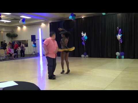 Erica Smith & Raymond Wong ~ 2nd Place Pro-Am Hustle Pre-Advanced ~ Disco America 2015