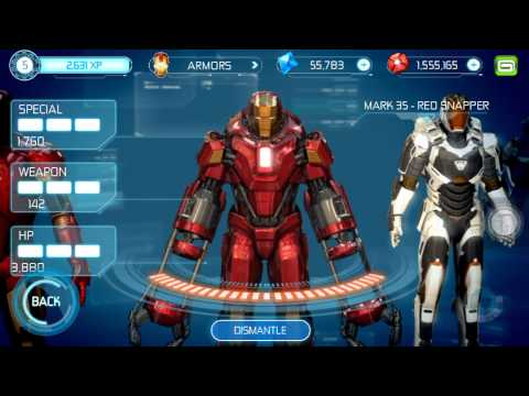 Ironman 3 the official game all suits