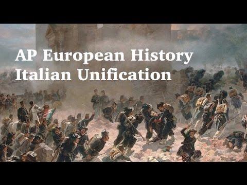 AP Euro: Italian Unification