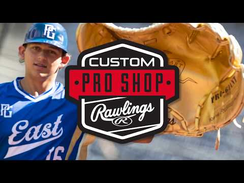 2019 Perfect Game All-American Custom Gloves