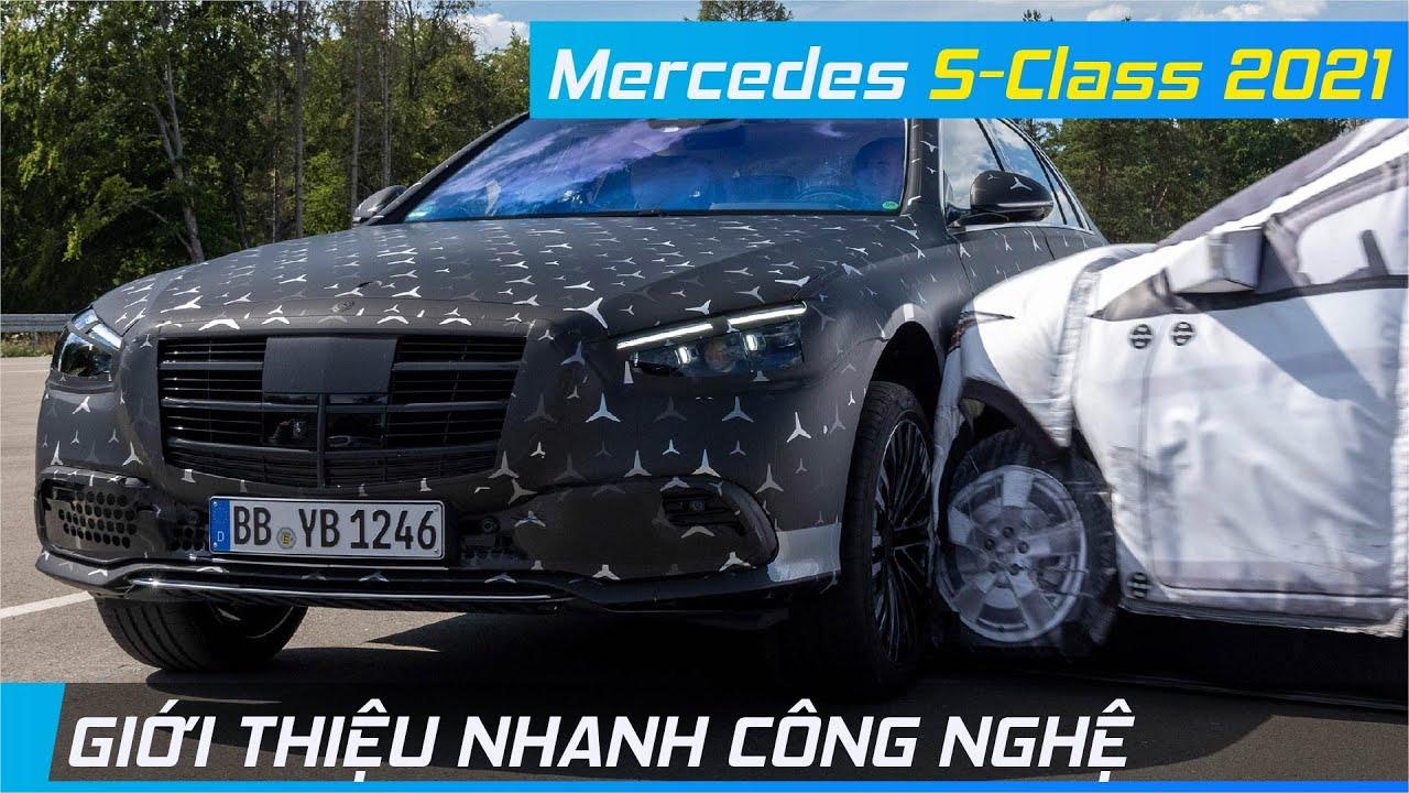 Giới thiệu nhanh Công nghệ đỉnh cao trên Mercedes S-Class 2021   XE24h
