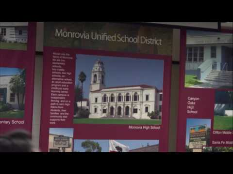 Monrovia Unified  School Board Meeting | December 14, 2016