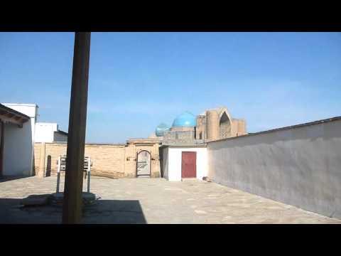 Touring Khoja Ahmed Yasawi in Turkistan   Part 5   Kazakhstan   February 2016