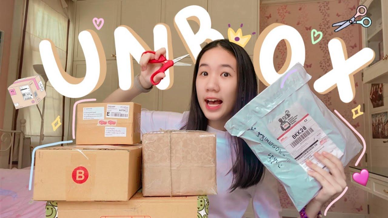 Unbox แกะพัสดุ 5 กล่องรวด เครื่องเขียน น้ำหอมแป้งเด็ก แก้วน้ำสตาร์บัค น่ารักมาก [Nonny Diary]
