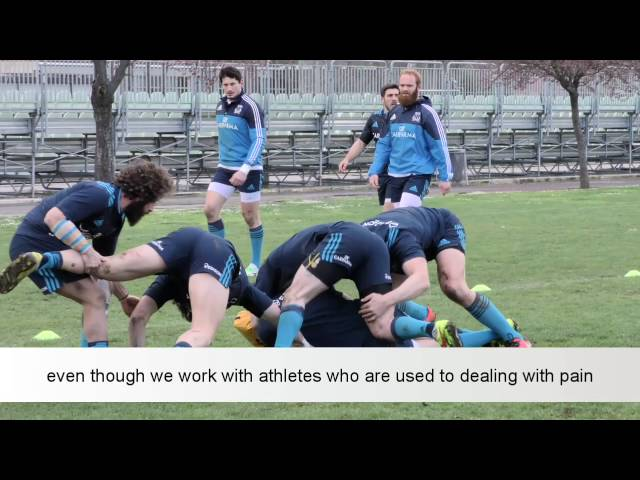 Italian National Rugby Team chooses the Swiss DolorClast® Method