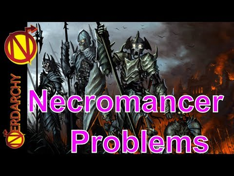 Handling a Necromancer for Dungeon Masters & Players in DnD- GM 911