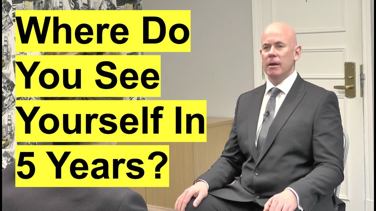 Download WHERE DO YOU SEE YOURSELF IN 5 YEARS? (The PERFECT Answer to this Common Interview QUESTION!)
