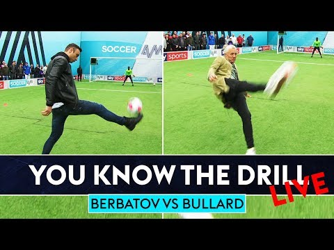 Dimitar Berbatov vs Jimmy Bullard   How's Your Touch? Challenge   You Know The Drill LIve!