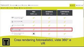 Crea rendering foto-realistici, viste 360° e VR