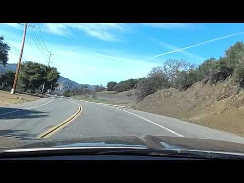 Cruising Series  Mulholland Highway 85 Vette