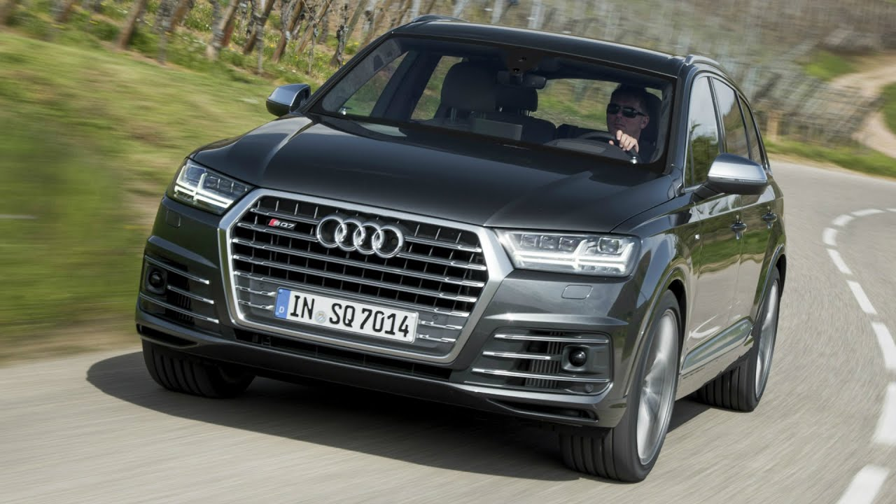 2017 Audi SQ7 TDI Daytona Grey - Drive and Design - YouTube