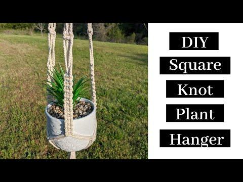 #3-diy-macrame-plant-hanger---square-knot-macrame-plant-hanger-tutorial!
