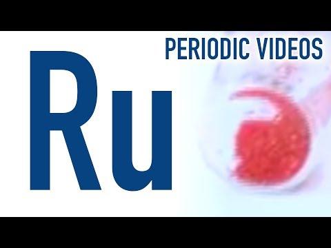 Ruthenium - Periodic Table of Videos