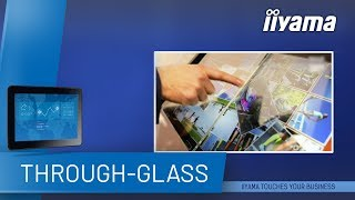 Check out how the touch through-glass feature works on iiyama pcap prolite tfxx15mc-b2 touchscreen monitors. for more information about touchscree...