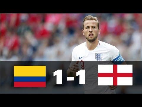 Colombia vs Inglaterra (1-1) RESUMEN & GOLES - 03/07/18 HD