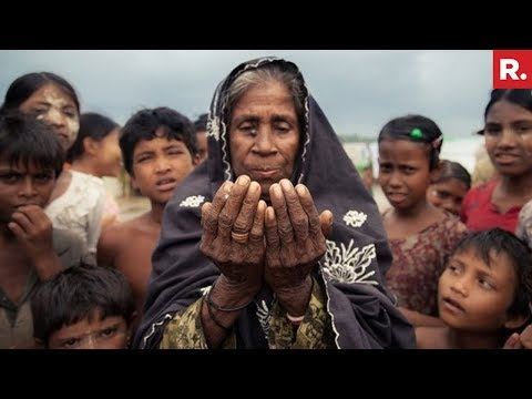 Centre To Supreme Court: Rohingya Muslims  With Terror Background Active