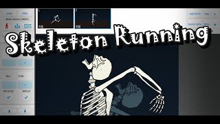 Funny Skeleton Running | Speed-Animating | Stick Nodes