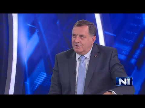 Milorad Dodik u Intervjuu N1