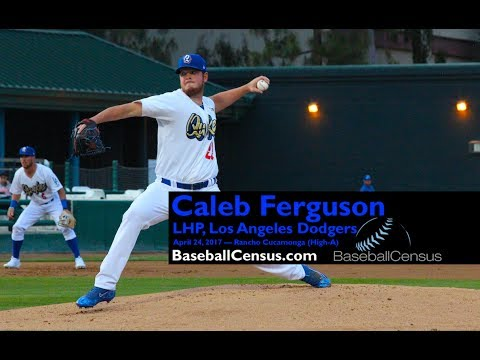 Caleb Ferguson, LHP, Los Angeles Dodgers — April 2017 Mechanics
