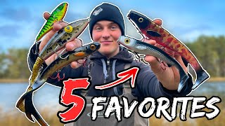 TOP 5 BAITS FOR SPRING PIKE (Insane Fishing) | Team Galant