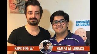 Rapid Fire with Hamza Ali Abbasi   Parwaaz Hai Junoon   Hania Aamir   Imran Khan   Humayun Saeed